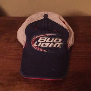 Bud Light Distressed Baseball Cap